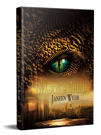 The Dragon's Child [hardcover] by Janeen Webb